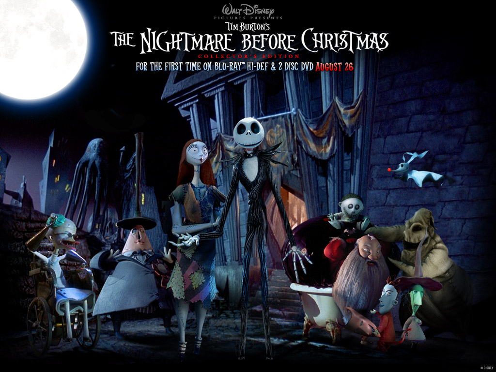 Spooky Nightmare before Christmas Wallpaper