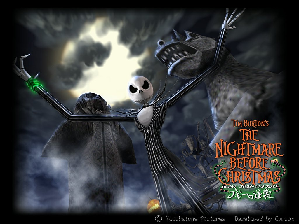 Nice Nightmare Before Christmas Wallpaper