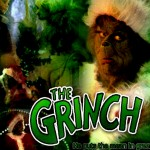 Jim Carey as The Grinch Christmas Wallpaper