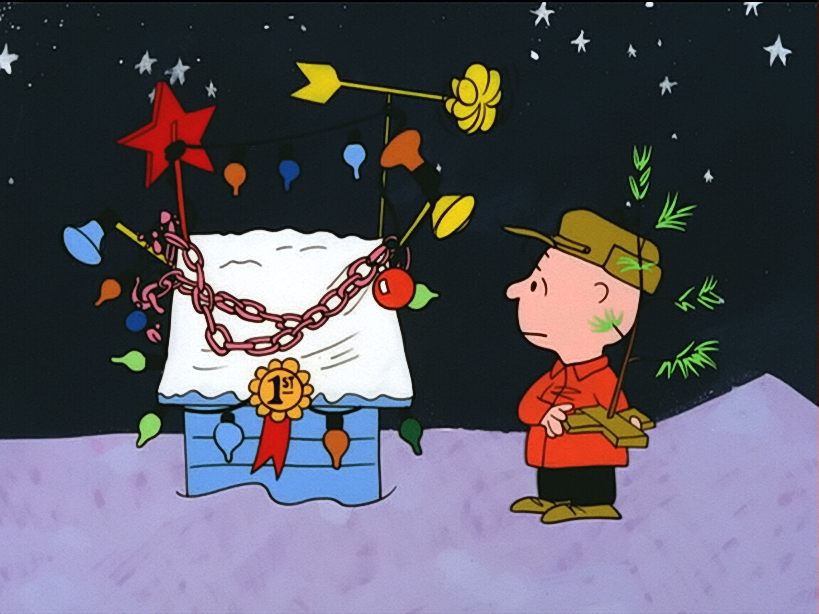 snoopy wins first place christmas cartoon wallpaper : christmas cartoons