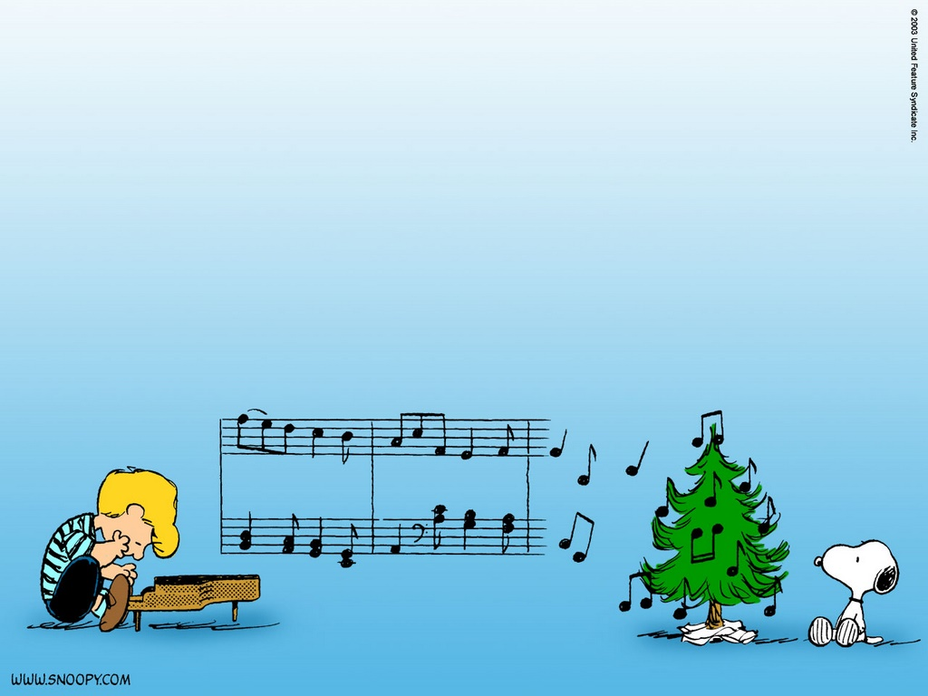 Charlie Brown Musical Christmas Tree