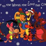 Winnie the Pooh Singing Christmas Carols Wallpaper