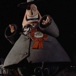 The Mayor of Halloweentown Nightmare Before Christmas Wallpaper
