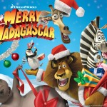 Madagascar Wishes you Merry Christmas Wallpaper