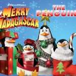 Penguins of Madagascar at Christmas Wallpaper