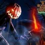 Jack the Pumpkin King Nightmare Before Christmas Wallpaper