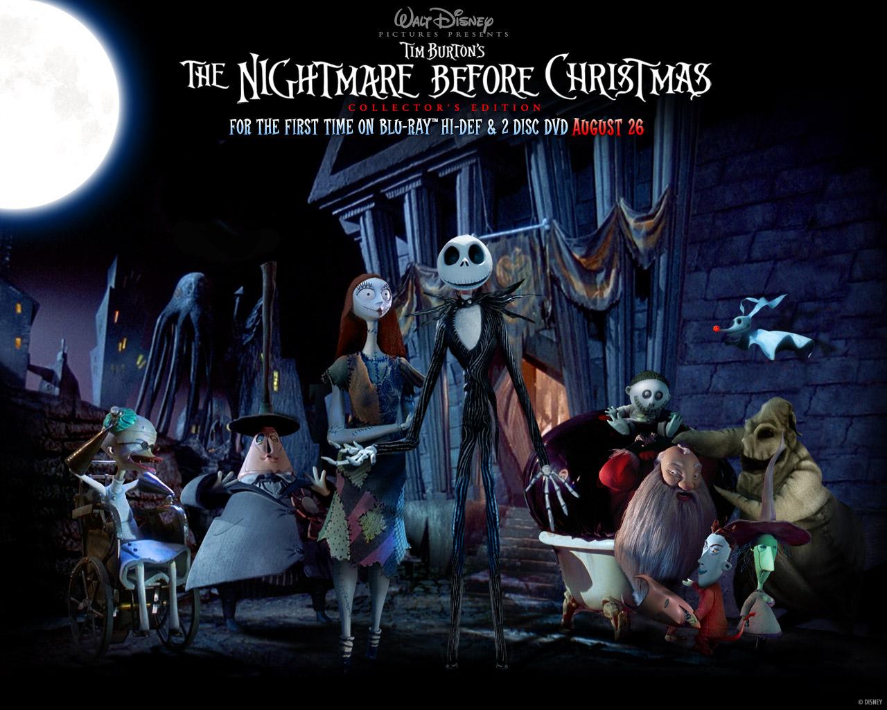 HalloweenTown Posing Nightmare Before Christmas Wallpaper ...