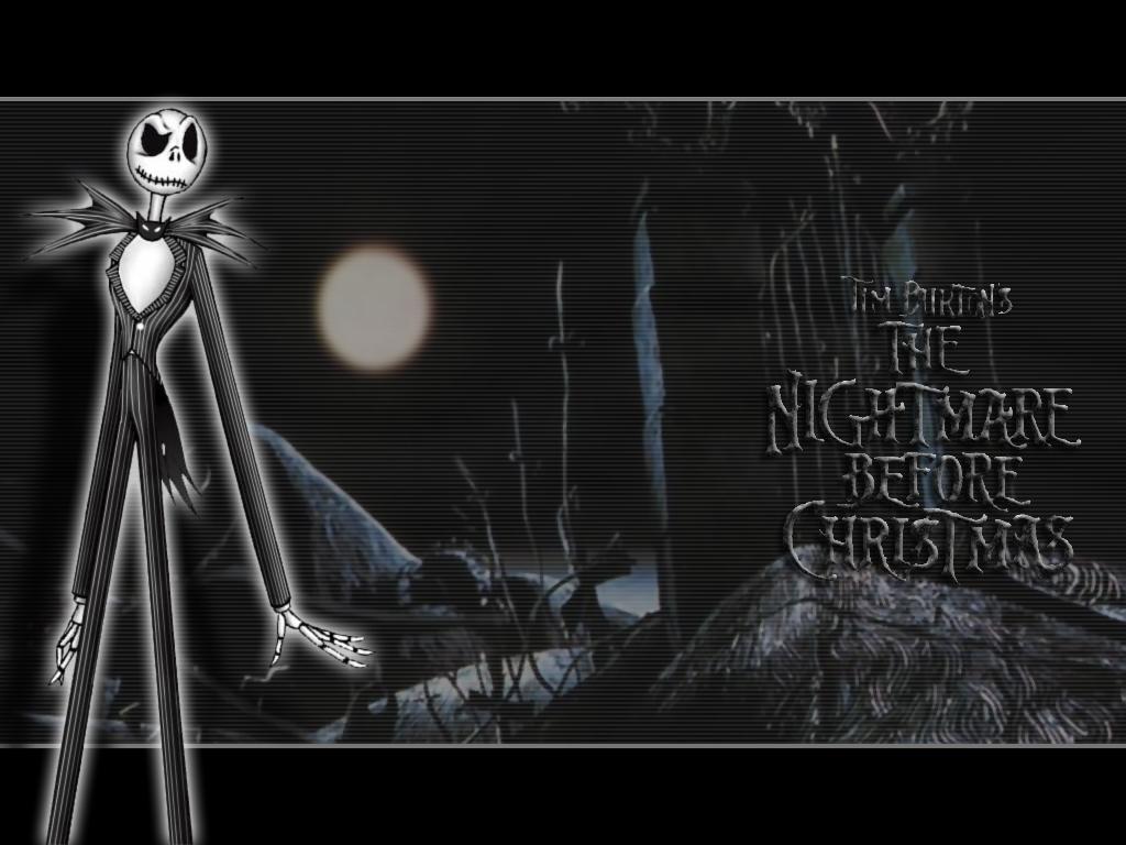 Jack Skelington in the Woods Nightmare Before Christmas Wallpaper ...