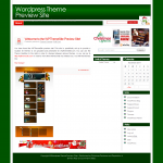 Simply Red Christmas Wordpress Theme