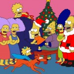 The Simpsons Singing Christmas Carols Wallpaper