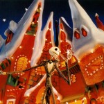 Jack in ChristmasTown Nightmare Before Christmas Wallpaper
