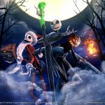 Beautiful Nightmare Before Christmas Wallpaper