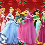 Disney Princesses Christmas Wallpaper