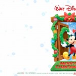 Adorable Mickey Mouse Christmas Wallpaper