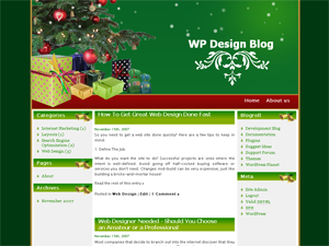 Christmas Gift WordPress Theme
