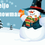 Hello Snowman Christmas Wordpress Theme