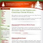 Vermillion Christmas Wordpress Theme