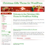 Christmas Gifts Wordpress Theme