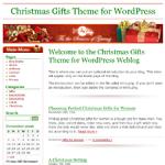 Christmas Gifts Wordpress Theme