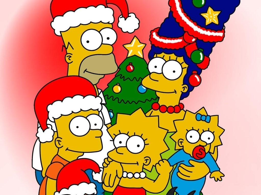 The Simpsons Christmas Wallpapers
