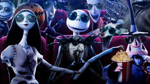 Jack and Friends Nightmare Before Christmas Wallpaper