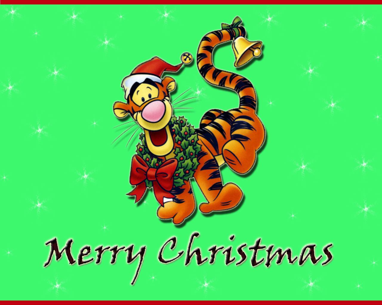 winnie the pooh christmas wallpapers christmas cartoons