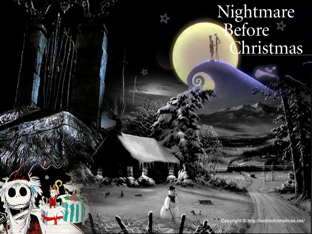 Forboding Nightmare Before Christmas Wallpaper : Christmas Cartoons
