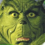 The Grinch Face Christmas Wallpaper