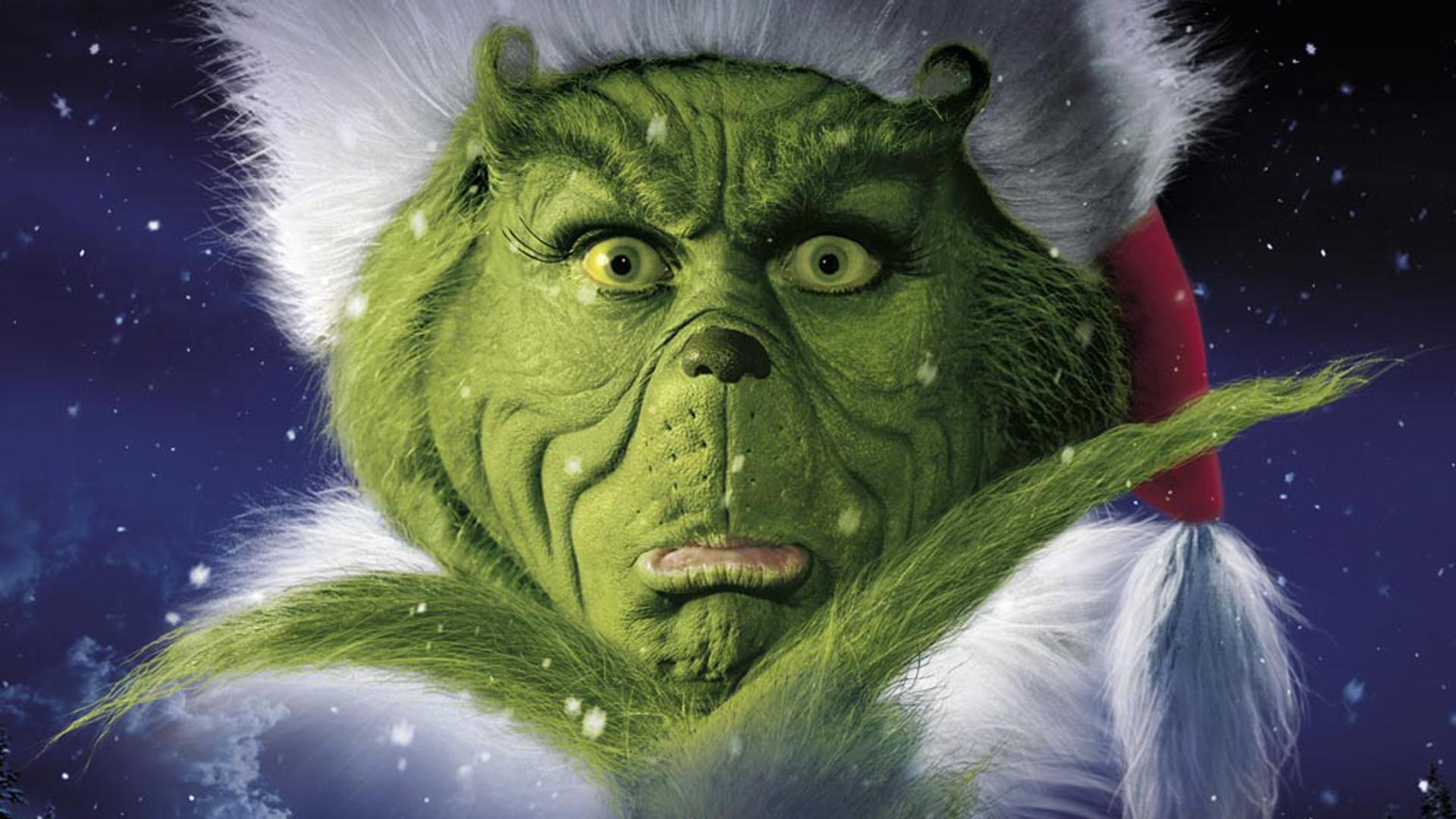 The Grinch Portrait Christmas Wallpaper