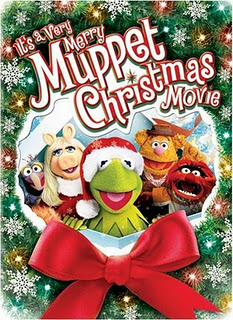 Kermit and Gang Wishing Merry Christmas Wallpaper