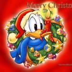 Donald Duck Christmas Wallpaper