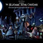 HalloweenTown Posing Nightmare Before Christmas Wallpaper