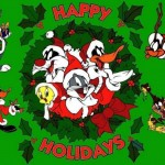 The Looney Tunes Gang Christmas Wallpaper