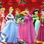 Disney Princesses Christmas Wallpaper