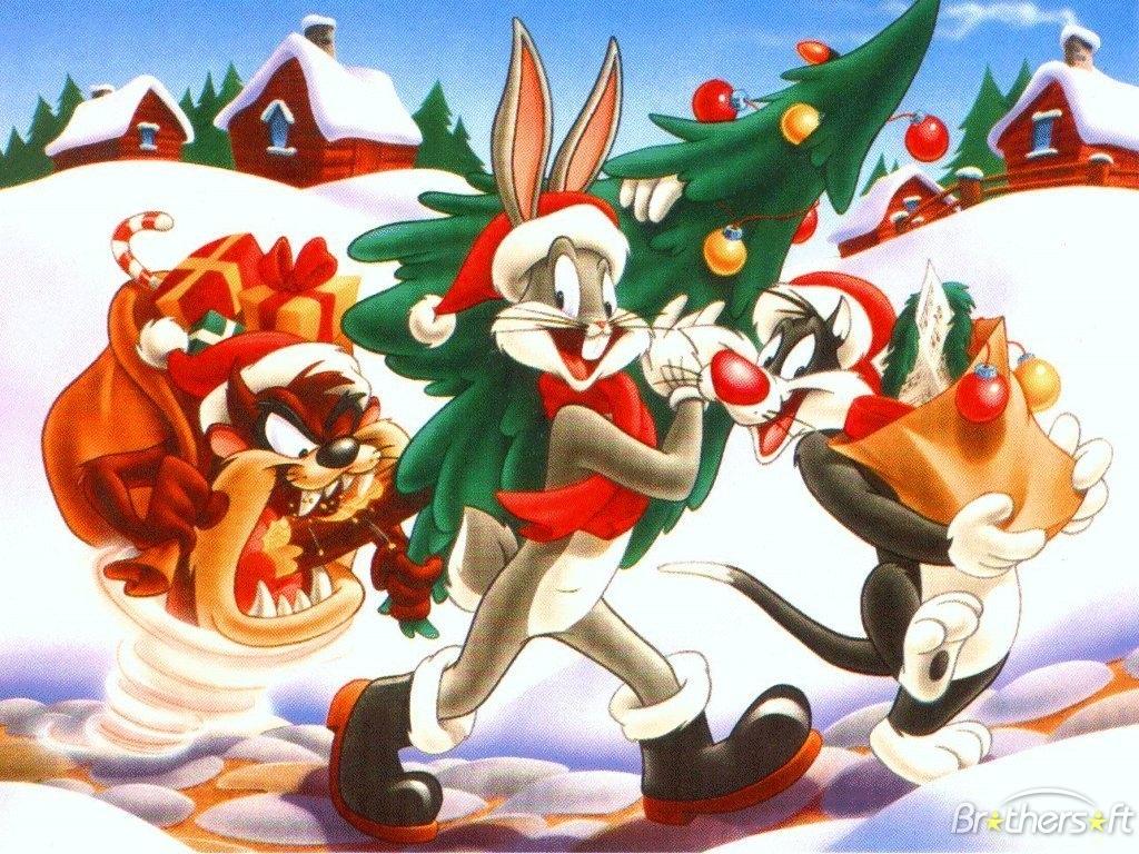 Looney Tunes Christmas Wallpapers Christmas Cartoons