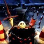 Lock, Stock, and Barrell Collecting Santa Nightmare Before Christmas Wallpaper