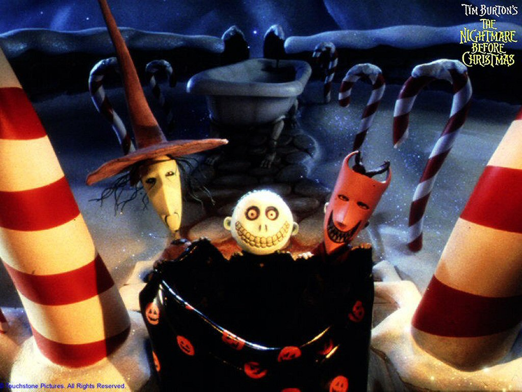 Lock Stock And Barrell Collecting Santa Nightmare Before