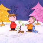 The Peanuts Christmas Cartoon Wallpaper