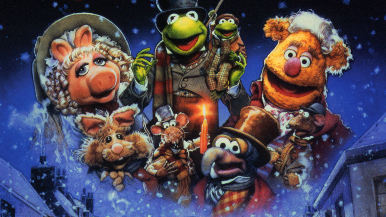 Kermit and the Gang from A Christmas Carol Wallpaper