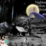 Forboding Nightmare Before Christmas Wallpaper